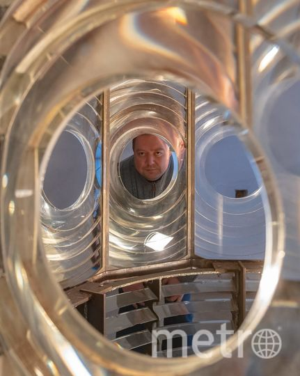 """Владимир Ергер, основатель музея. Фото Алена Бобрович, """"Metro"""""""