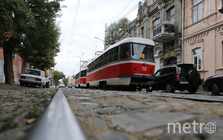 "Иван ""выкупил"" трамвай на смену с 6:24 до 23:55. Фото Getty"
