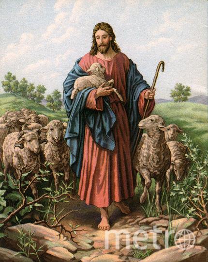Изображение Иисуса Христа. Рисунок. Фото Getty