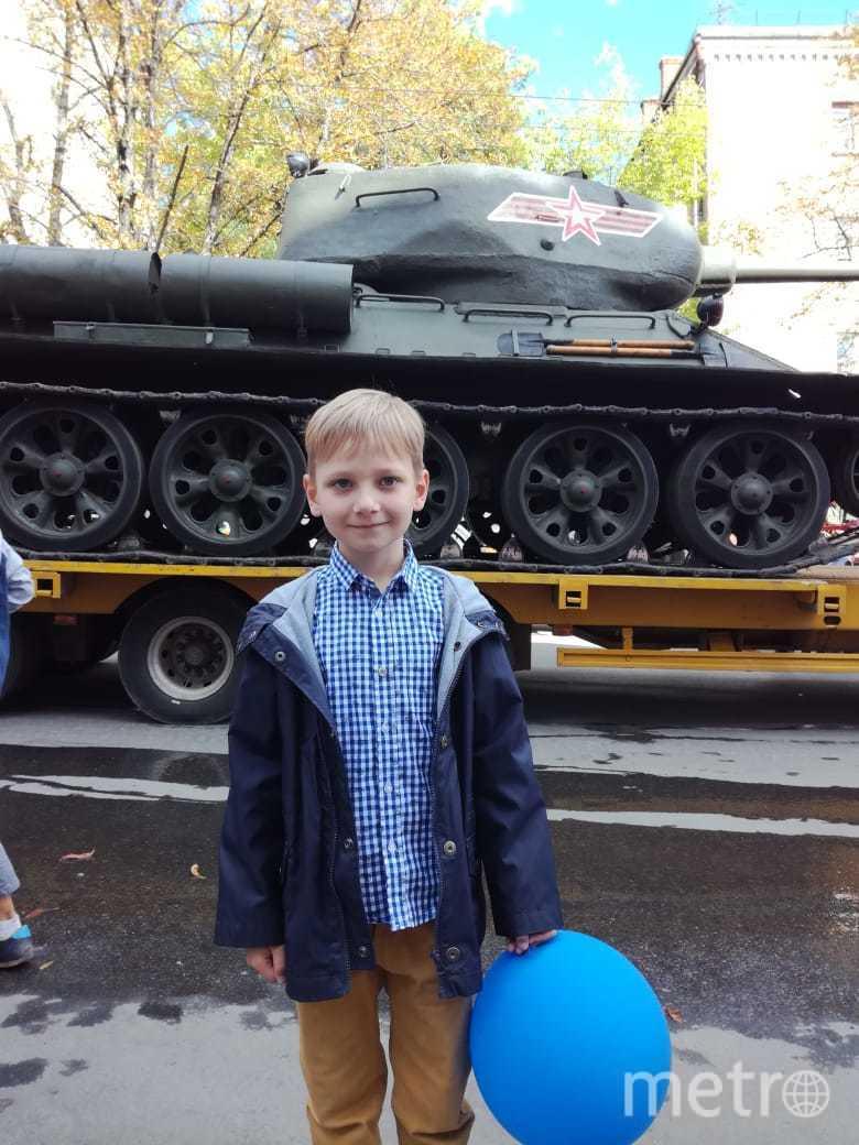 Миша, 7 лет. Фото принадлежит герою материала