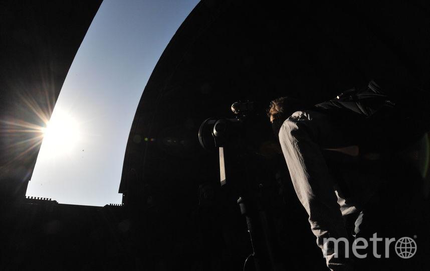 "Яркая комета прошла над Петербургом. Фото Архивное фото, ""Metro"""