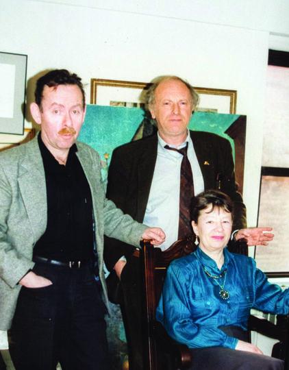 """Архивное фото. Яков Гордин (слева на фото). Фото Предоставлено Яковом Гординым, """"Metro"""""""