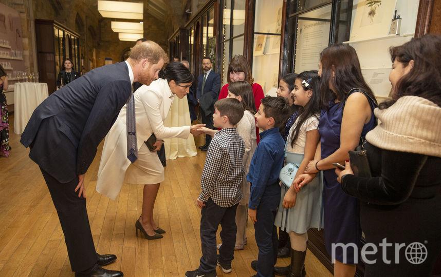 Принц Гарри и Меган Маркл в Музее естествознания. Фото Getty