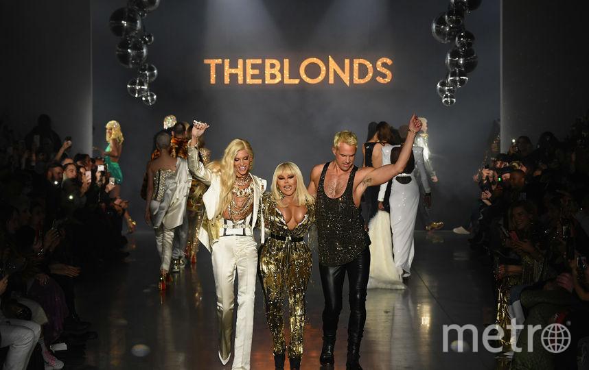 Шоу  The Blonds. Фото Getty
