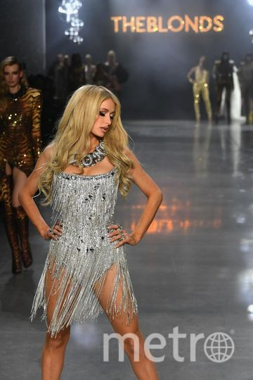 Шоу The Blonds. Пэрис Хилтон. Фото Getty