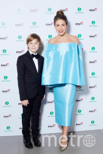 Юлия Барановская с сыном. Фото Getty