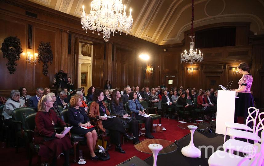 Кейт Миддлтон посетила конференцию по психическому здоровью. Фото Getty