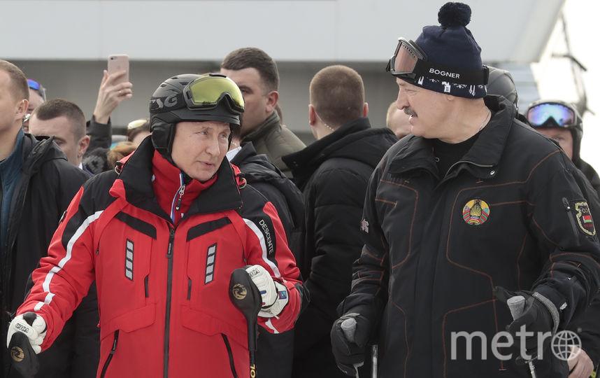 Владимир Путин и Александр Лукашенко. Фото AFP