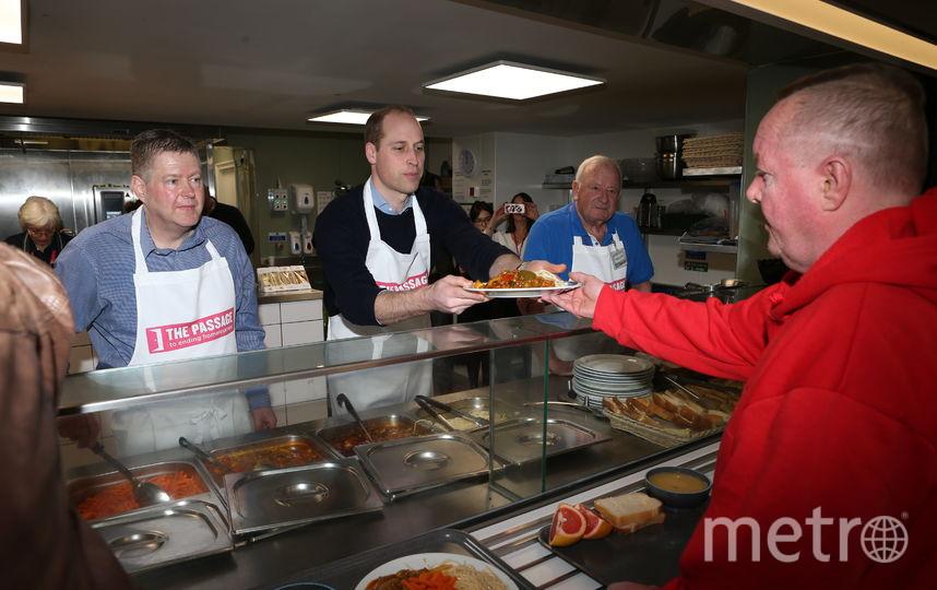 Принц Уильям посетил благотворительную организацию. Фото Getty