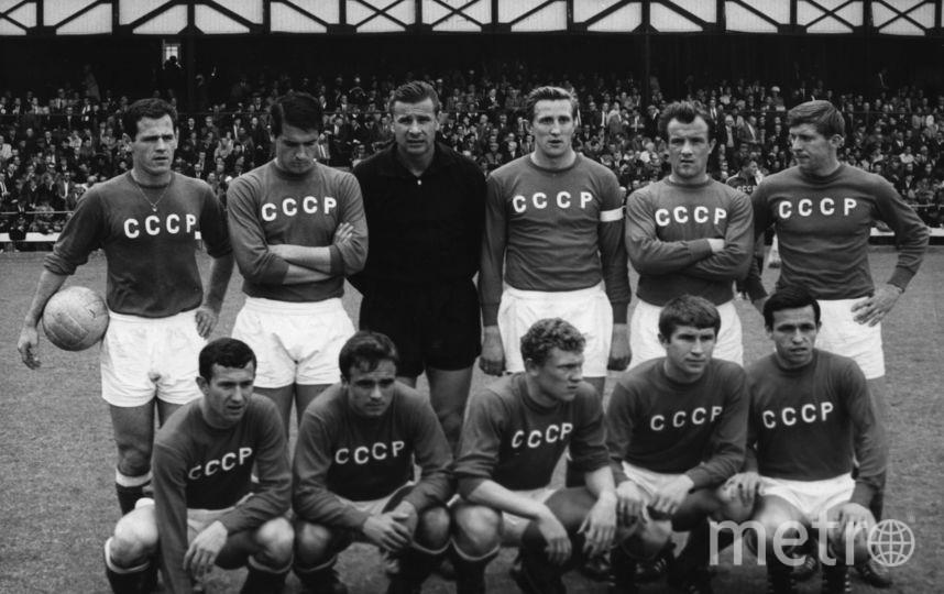 Сборная СССР по футболу. Фото Getty
