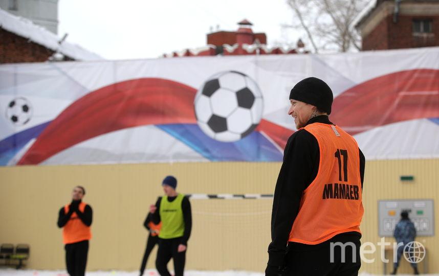 Мамаев сыграл за две команды заключённых. Фото Getty