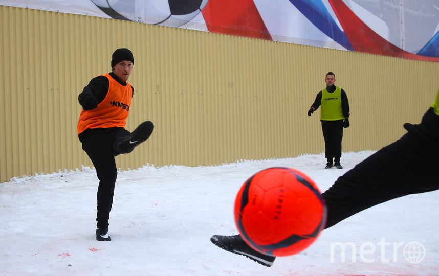 Играли заключённые оранжевым мячом. Фото Василий Кузьмичёнок