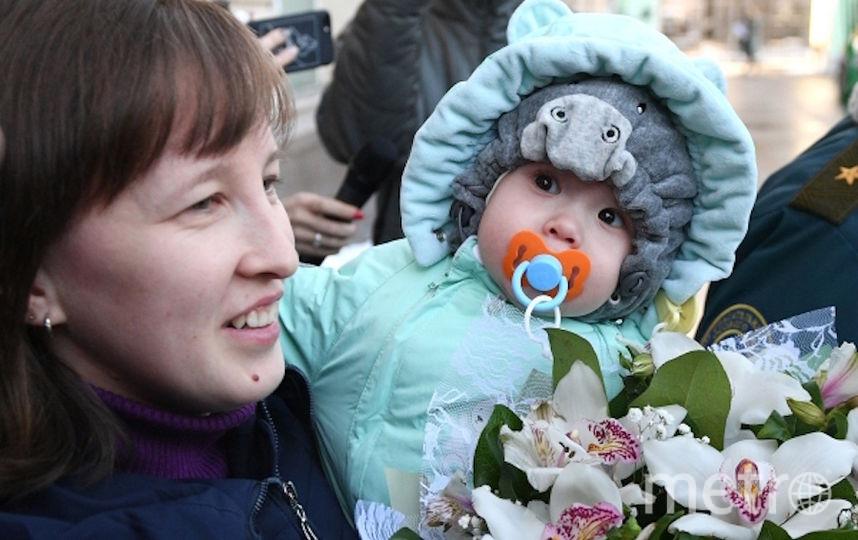 Ваня вместе с мамой. Фото РИА Новости