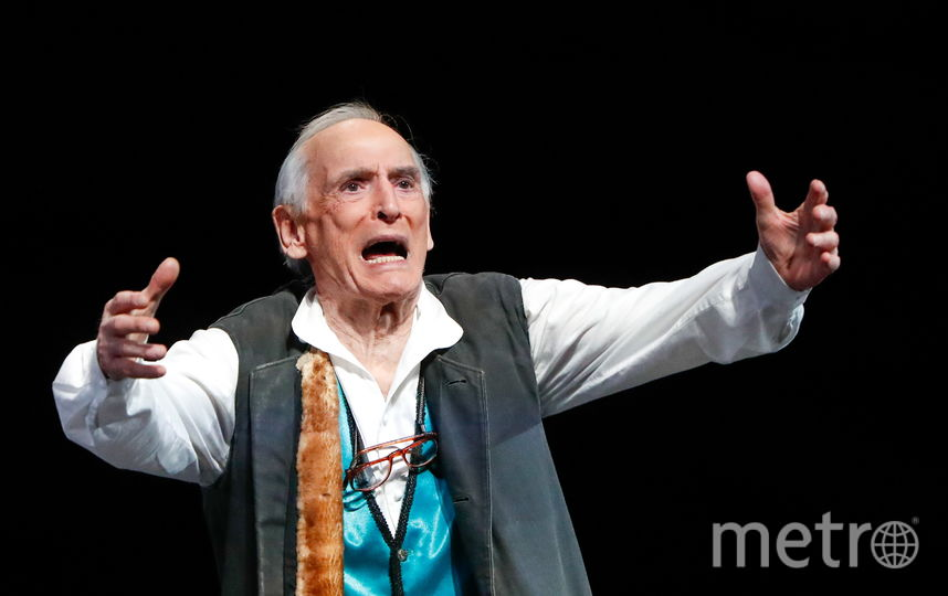 Василий Лановой отметил 85-летие на сцене Театра имени Вахтангова. Фото Getty