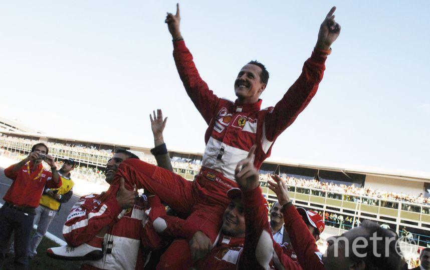 "Семикратный чемпион ""Формулы-1"" Михаэль Шумахер. Фото Getty"