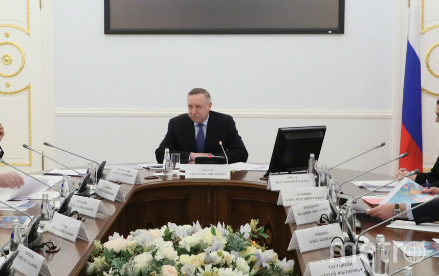 "Александр Беглов. Фото gov.spb.ru, ""Metro"""