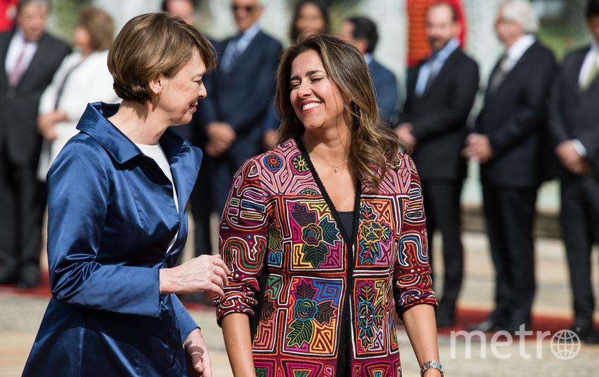 Мария Юлиана Руис справа. Архив. Фото Getty