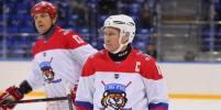 В Сочи президент России Владимир Путин забил шесть шайб