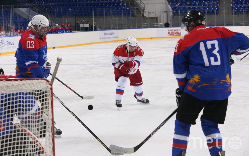 Хоккей в Сочи. Фото Getty