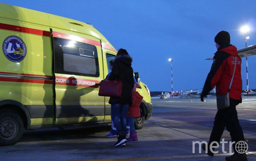 "Фото: ГУ МЧС по Санкт-Петербургу. Фото ""Metro"""