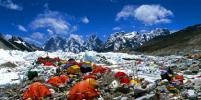 Туристам запретили восхождение на Эверест