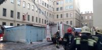 МЧС: в результате обрушения перекрытий в университете в Петербурге никто не пострадал