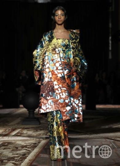Неделя моды в Лондоне. Коллекция Halpern. Фото Getty