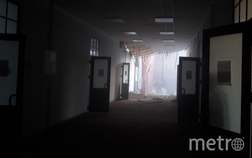 Фото с места происшествия. Фото https://vk.com/spb_today