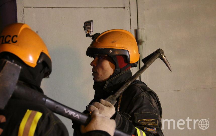 Ликвидация последствий обрушения балок и перекрытий в университете ИТМО. Фото МЧС по Петербургу и Ленобласти