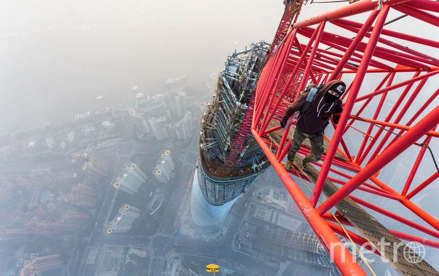 "Шанхайская башня, 2015. Фото  Виталий Раскалов, ""Metro"""