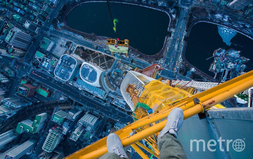 """Башня Лотте в Сеуле, 2016. Фото  Виталий Раскалов, """"Metro"""""""