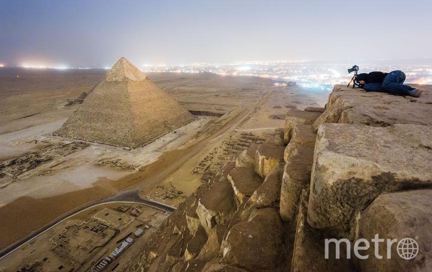 """Пирамиды в Египте, 2013. Фото Вадим Махоров, """"Metro"""""""