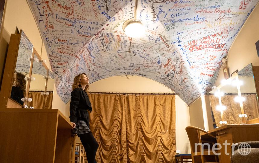 "Расписной потолок. Фото Алена Бобрович, ""Metro"""
