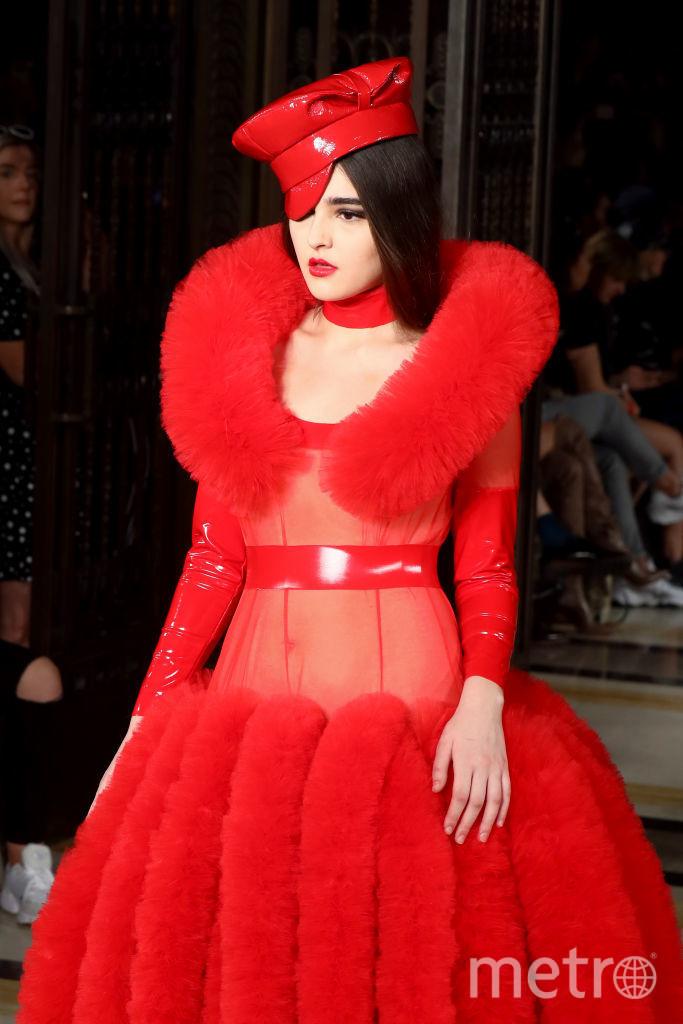 Дизайнер Пэм Хогг представила свою коллекцию в рамках Недели моды в Лондоне. Фото Getty