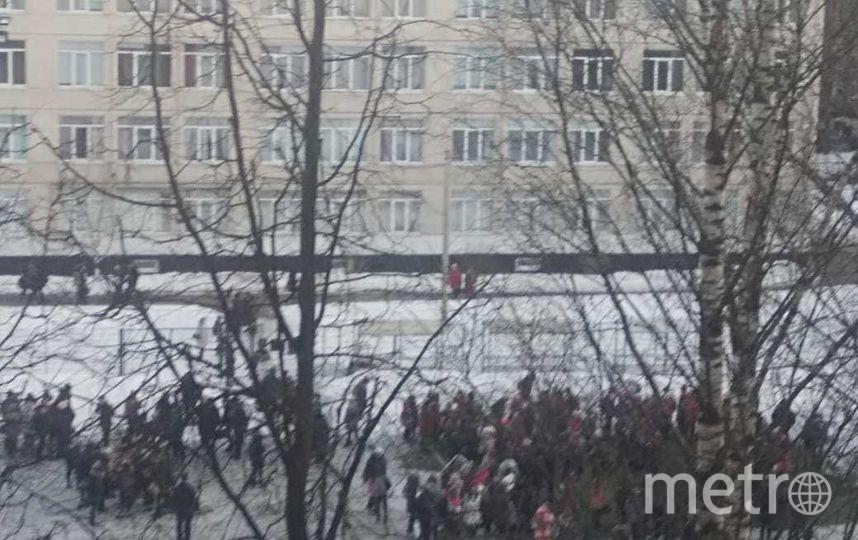 В Петербурге началась новая волна эвакуаций. Фото ДТП и ЧП | Санкт-Петербург | Питер Онлайн | СПб, vk.com