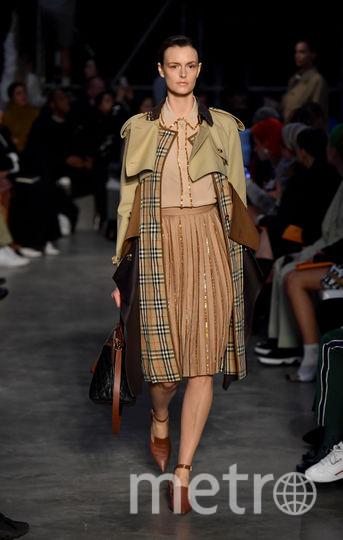 Шоу Burberry на Неделе моды в Лондоне. Фото Getty