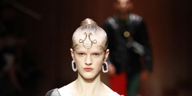 Шоу Burberry на Неделе моды в Лондоне.