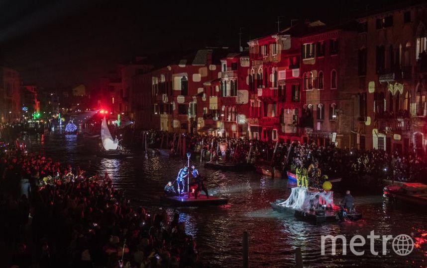 Представление в день открытия карнавала. Фото Getty