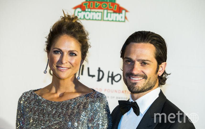 Мадлен - принцесса Швеции - с супругом. Фото Getty