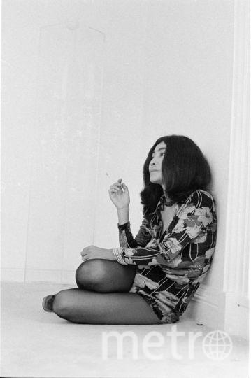 Йоко Оно в молодости. Фото Getty
