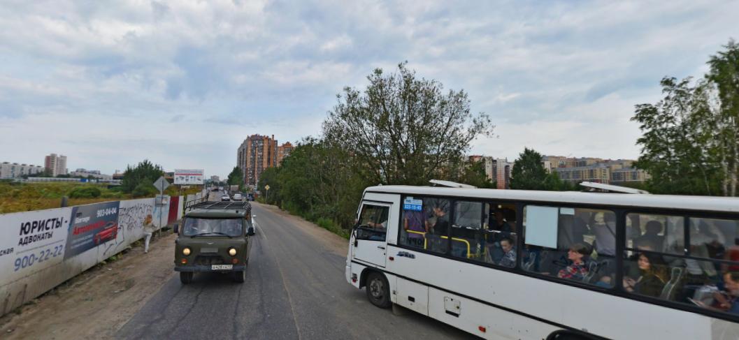 """Также на участке от """"Нового Оккервиля"""" до улицы Пражской нет освещения. Фото Яндекс.Панорамы, """"Metro"""""""