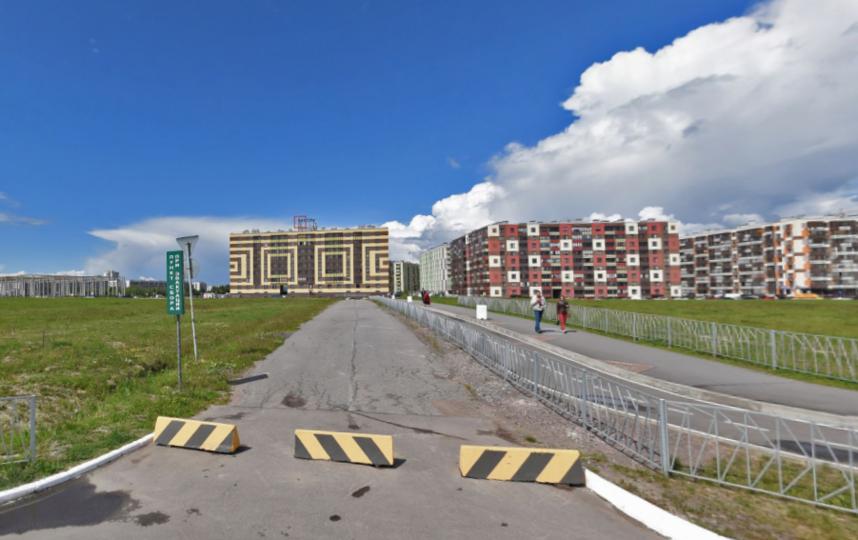 """Станцию могут открыть недалеко от """"МЕГИ"""". Фото Яндекс.Панорамы, """"Metro"""""""