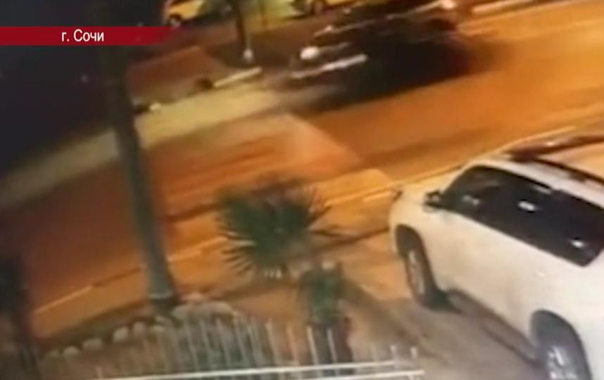 В Сочи завели дело против насмерть сбившего девочку полицейского. Фото скриншот видео www.tvc.ru