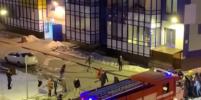 В Кудрово на руках растащили машины, чтобы дать проехать пожарным