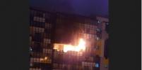 В Кудрово на руках растащили машины, чтобы дать проехать пожарной