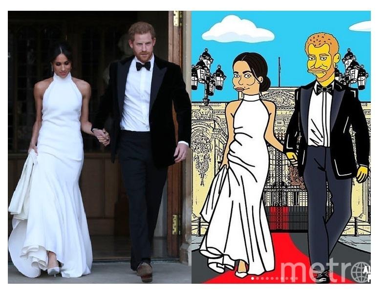 Свадьба Меган Маркл и принца Гарри. Фото AFP | Скриншот https://www.instagram.com/alexsandropalombo/