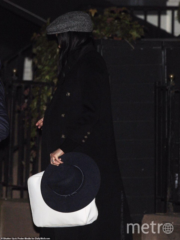 Меган Маркл в Нью-Йорке. Фото скриншот из соцсетей
