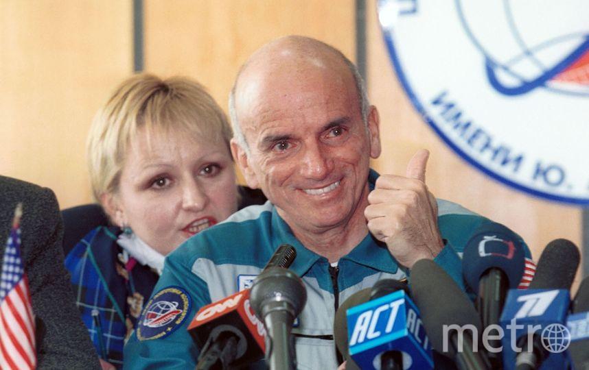Денис Тито - самый известный космический турист в мире. Фото Getty