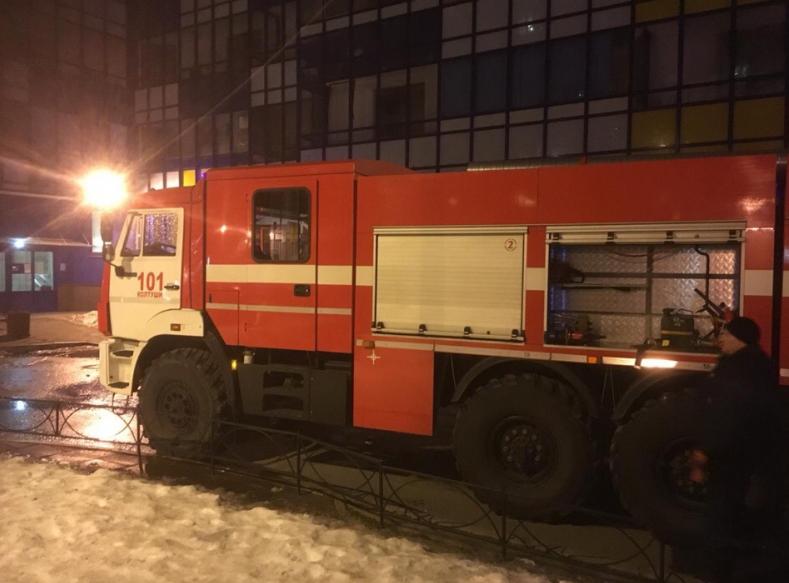 Пожар в Кудрово. Фото http://47.mchs.gov.ru/