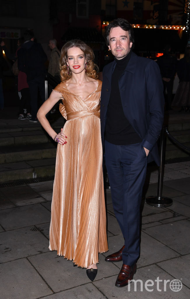 Наталья Водянова и Антуан Арно. Фото Getty
